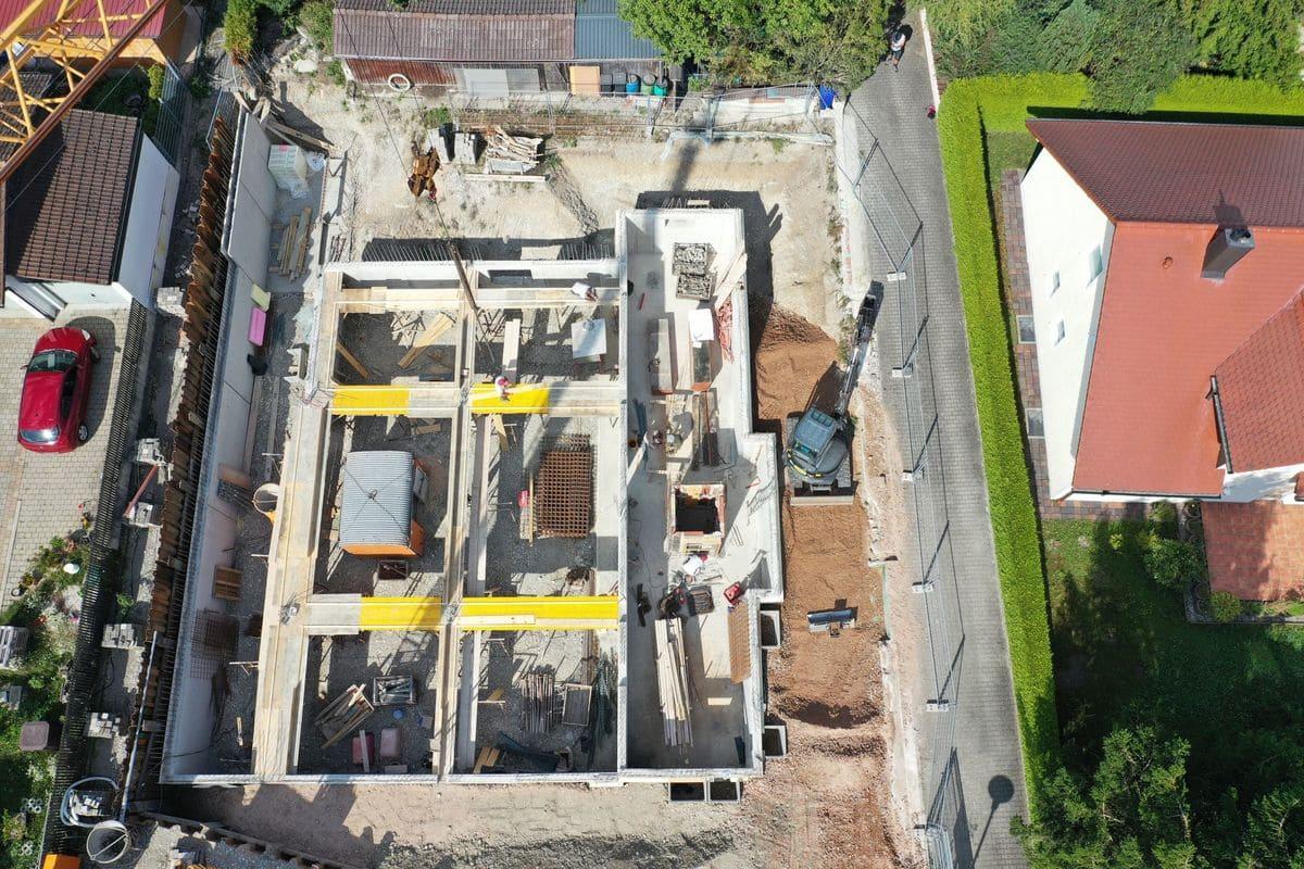 Bau von 5-Familienhaus in Klosterlefeld