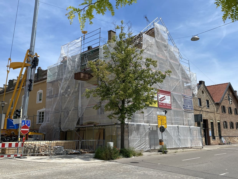 Umbau MFH Schwabmünchen Schrannenplatz